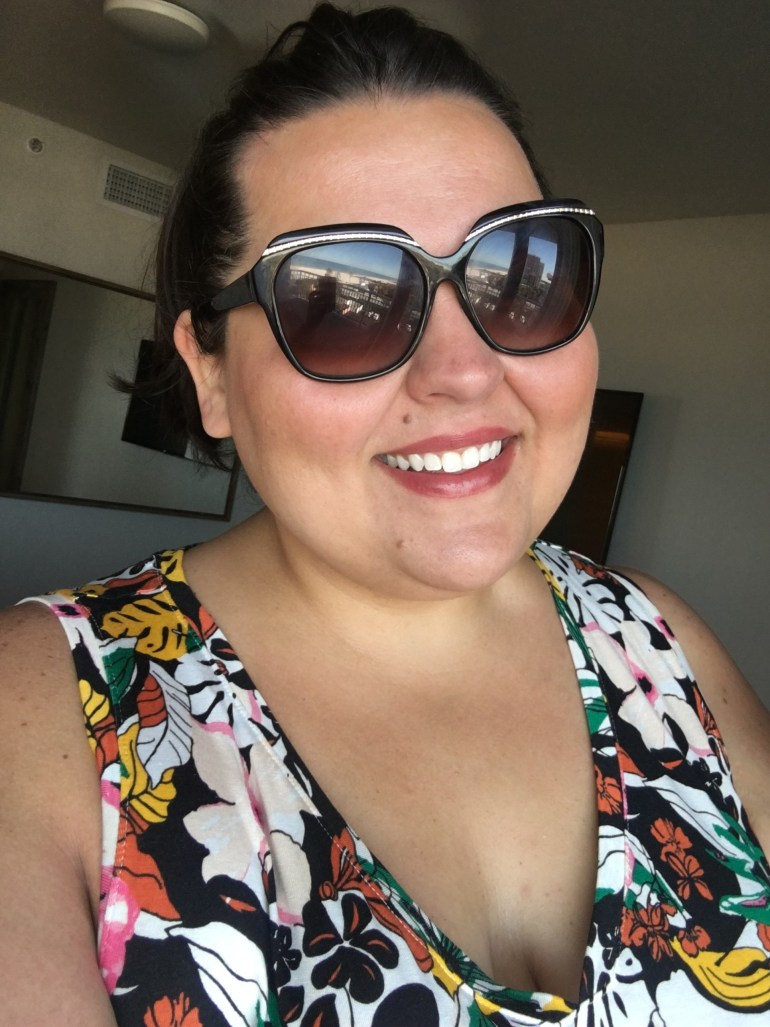 What I Packed And Wore On A Beach Vacation - Plus Size Packing Tips