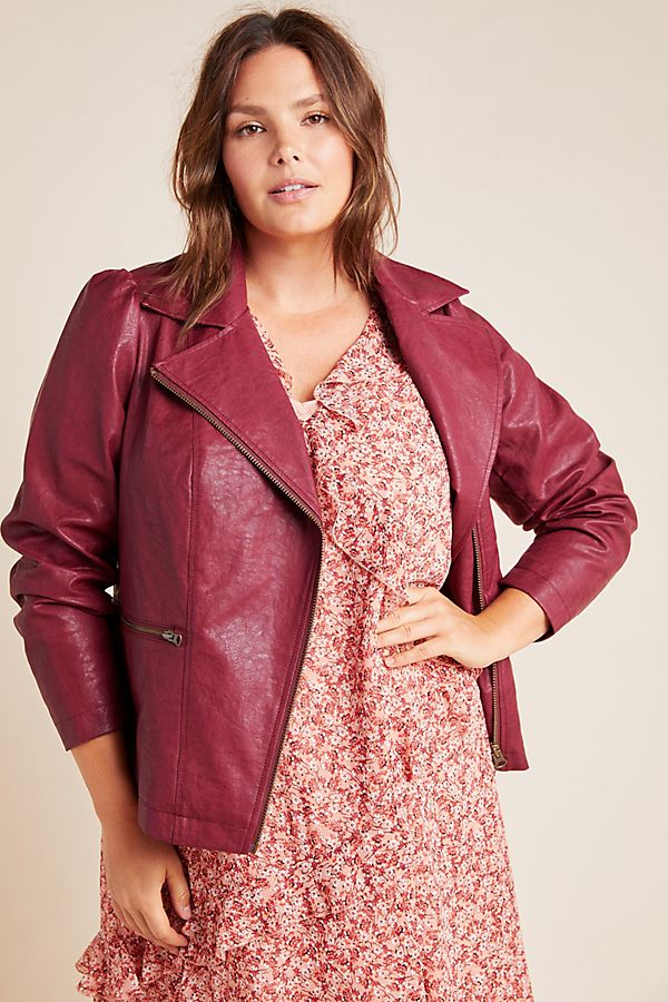 Fall 2019 Fashion Trends - Leather - Puff Sleeve Moto JacketFall 2019 Fashion Trends - Leather - Puff Sleeve Moto Jacket