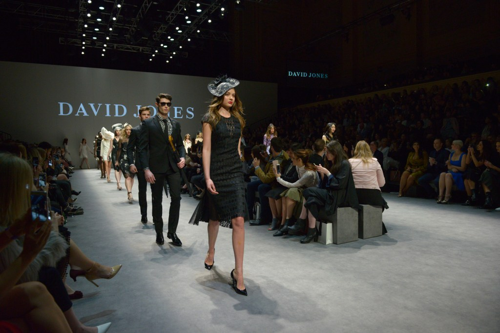 MFW David Jones Premium Runway 1