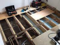 Replacing Floor Joists From Above  Floor Matttroy