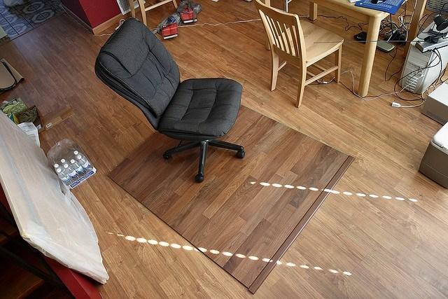 diy chair mat for hardwood floor samsonite folding parts making a plywood guide theplywood com laminate
