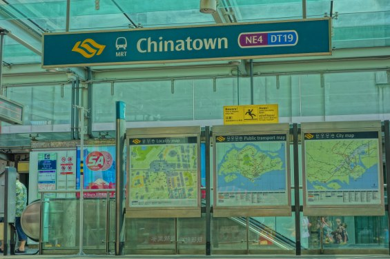 Arriving at China Town