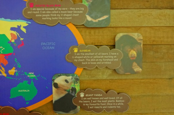 Just one of the fun informative displays about animals!