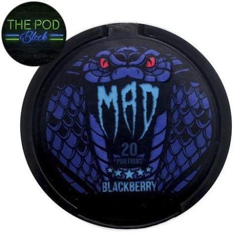 Mad Blackberry Flavour Nicopod