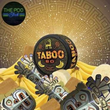 Taboo Caramel and Banana Flavoured Nicopod
