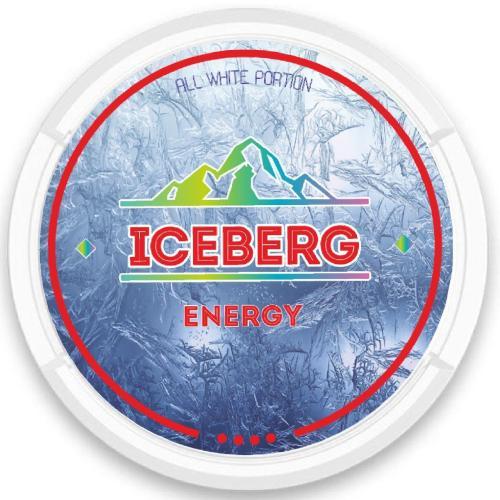 iceberg energy nicotine pouches snus nicopods the pod block