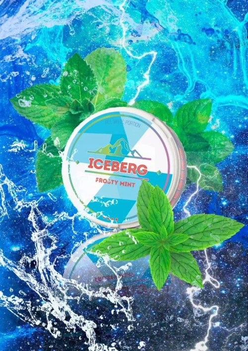Iceberg Frosty Mint Flavoured Nicotine Pouch