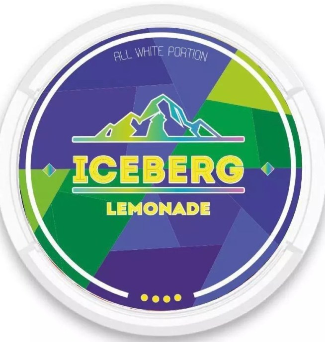 iceberg lemonade nicotine pouches snus nicopods the pod block