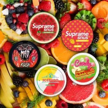 Multipack of Fruity Flavoured Snus Nicopods