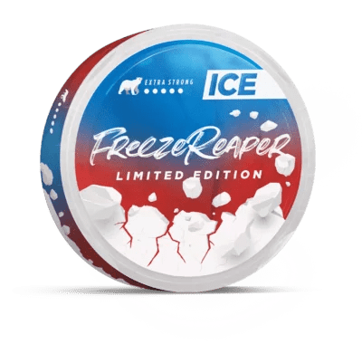 ICE Freeze Mint and Carolina Reaper Flavour Nicotine Pouch