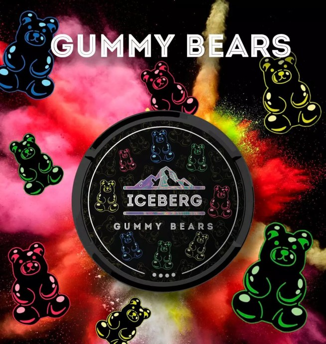 Iceberg Gummy Bears Nicotine Pouches