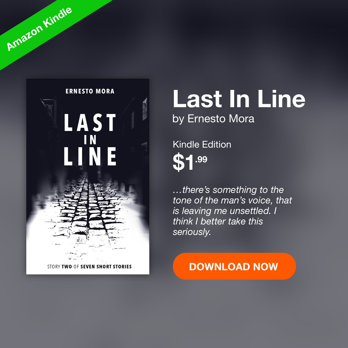 Last in Line by Ernesto Mora Download for Kindle