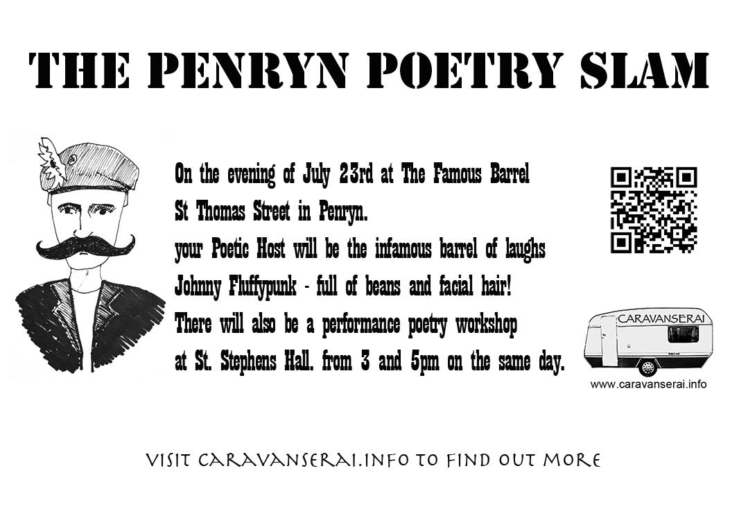 Penryn's First Poetry Slam at Penryn Arts Fest, July 2013