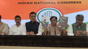 Reacting to the Bharatiya Janata Party's election manifesto, Congress said that important issues like jobs, GST, black money and demonetisation are missing.