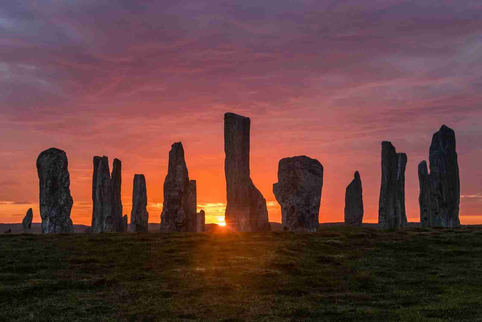Callanish Standing Stones, Isle of Lewis, Outer Hebrides, Scotland. (Photo by Petr Sommer Photography / Shutterstock)