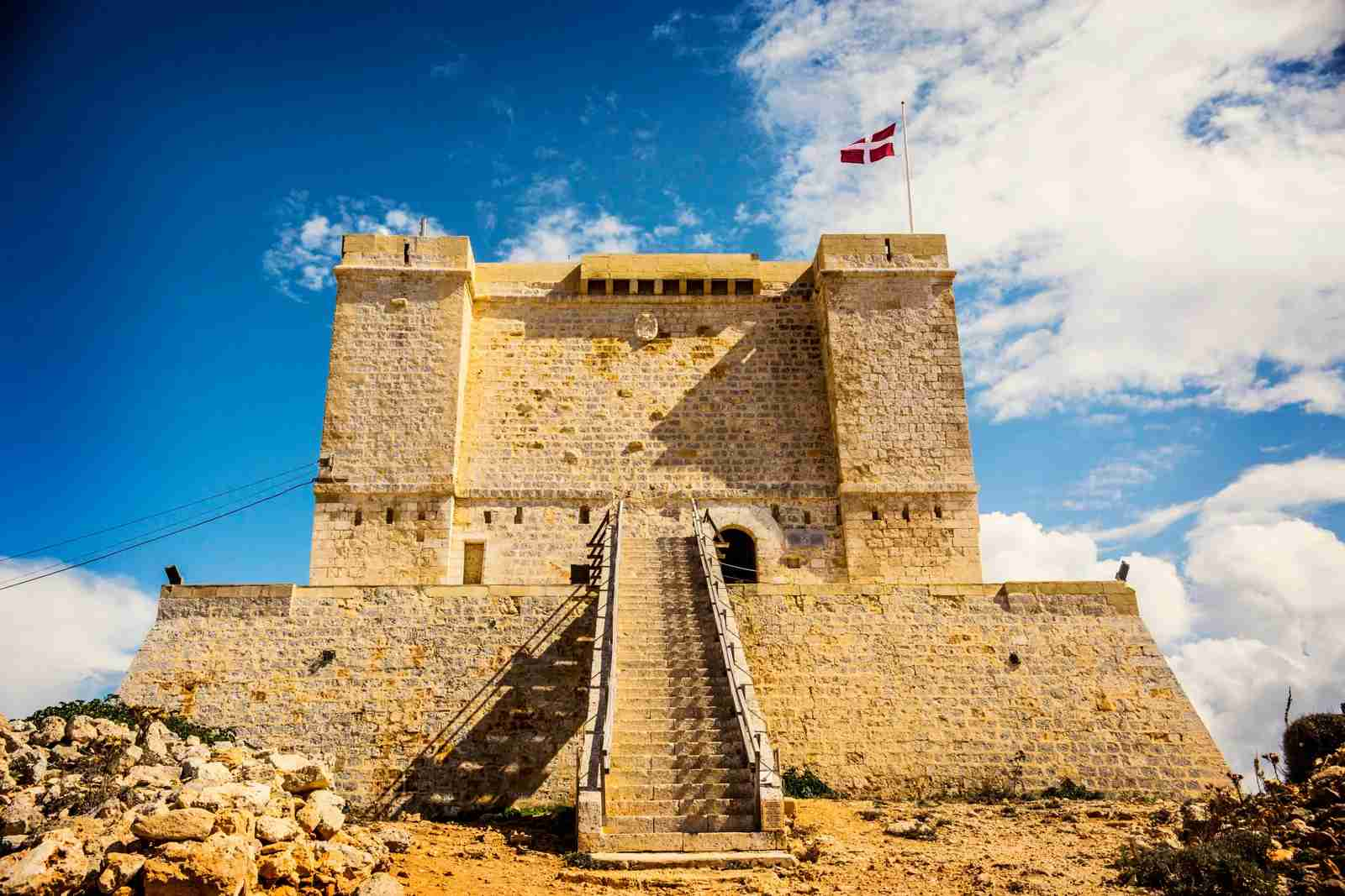 Santa Marija Tower, Comino, Malta. (Photo by Sun_Shine / Shutterstock)