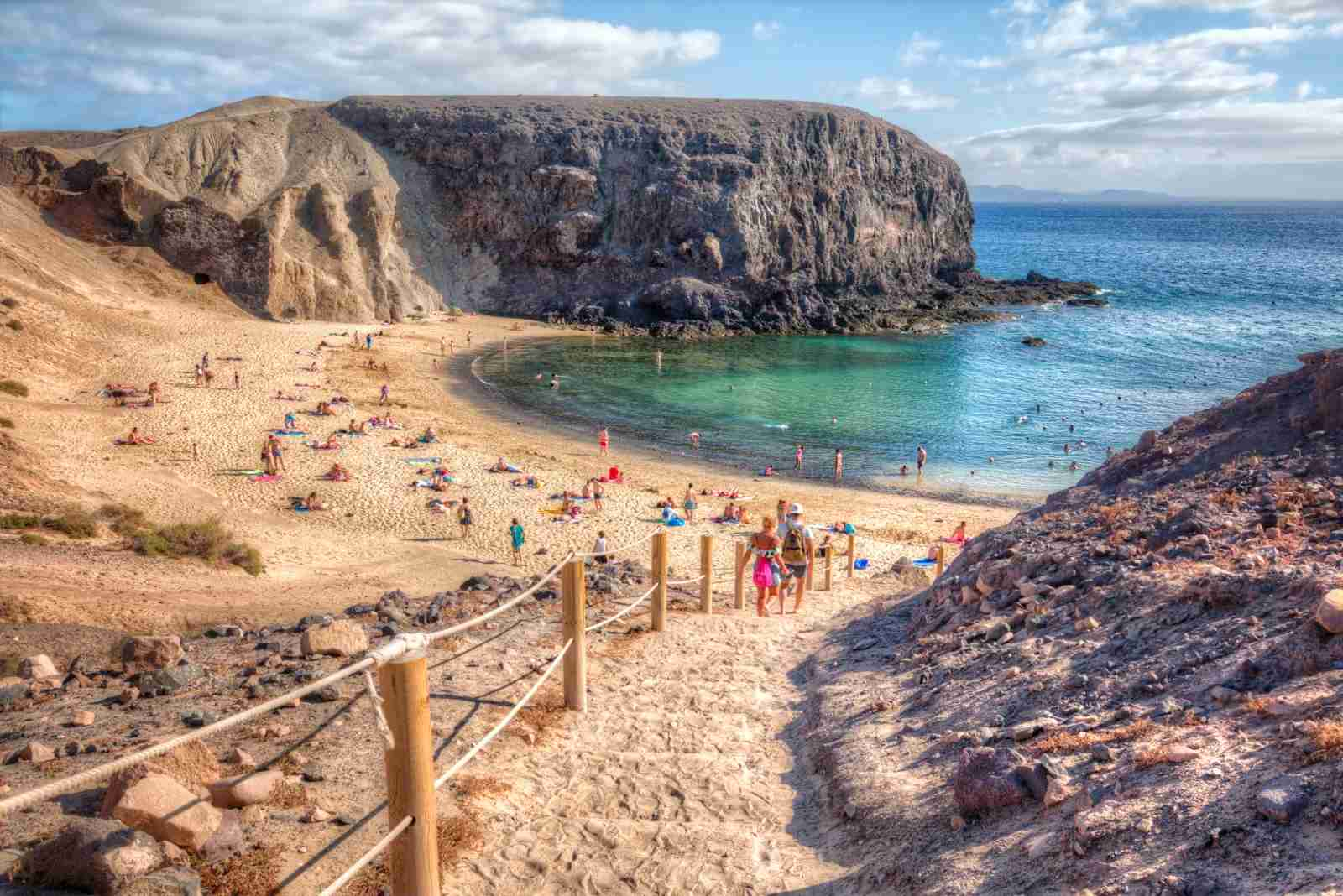 Playa Papagayo, Canary Islands. (Photo by Zu Sanchez Photography / Getty Images)