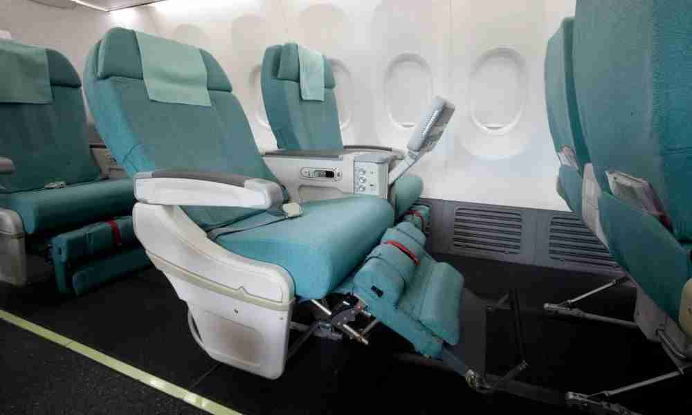 Domestic first class on Korean Air can be had for as little as 12,000 Skywards miles round-trip. Image courtesy of the airline.