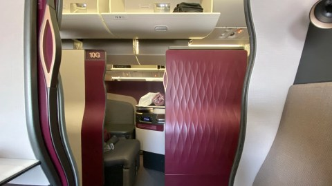 Approaching perfection: A review of Qatar Airways' Qsuite business class on the 777-300ER, Doha to JFK