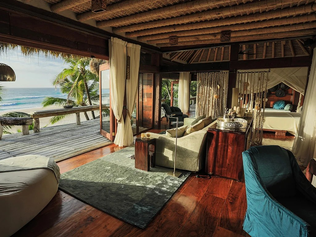 North Island Resort in the Seychelles available using Marriott points