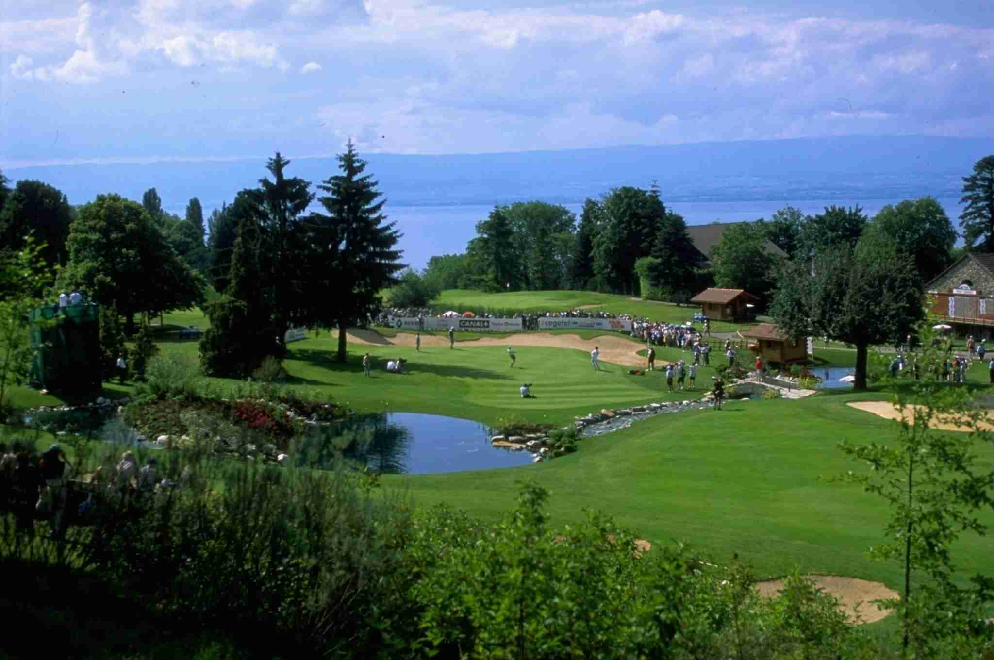 Evian gold course (Photo by Stephen Munday/Getty Images)