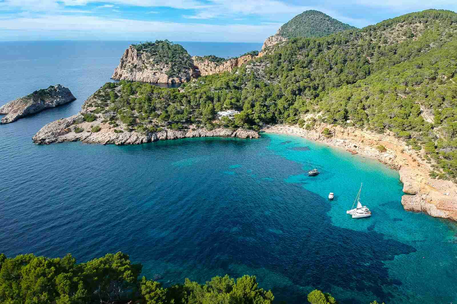 Cala Saladeta. (Photo by Javier Duran/Getty Images)
