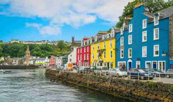 Tobermory on a summer
