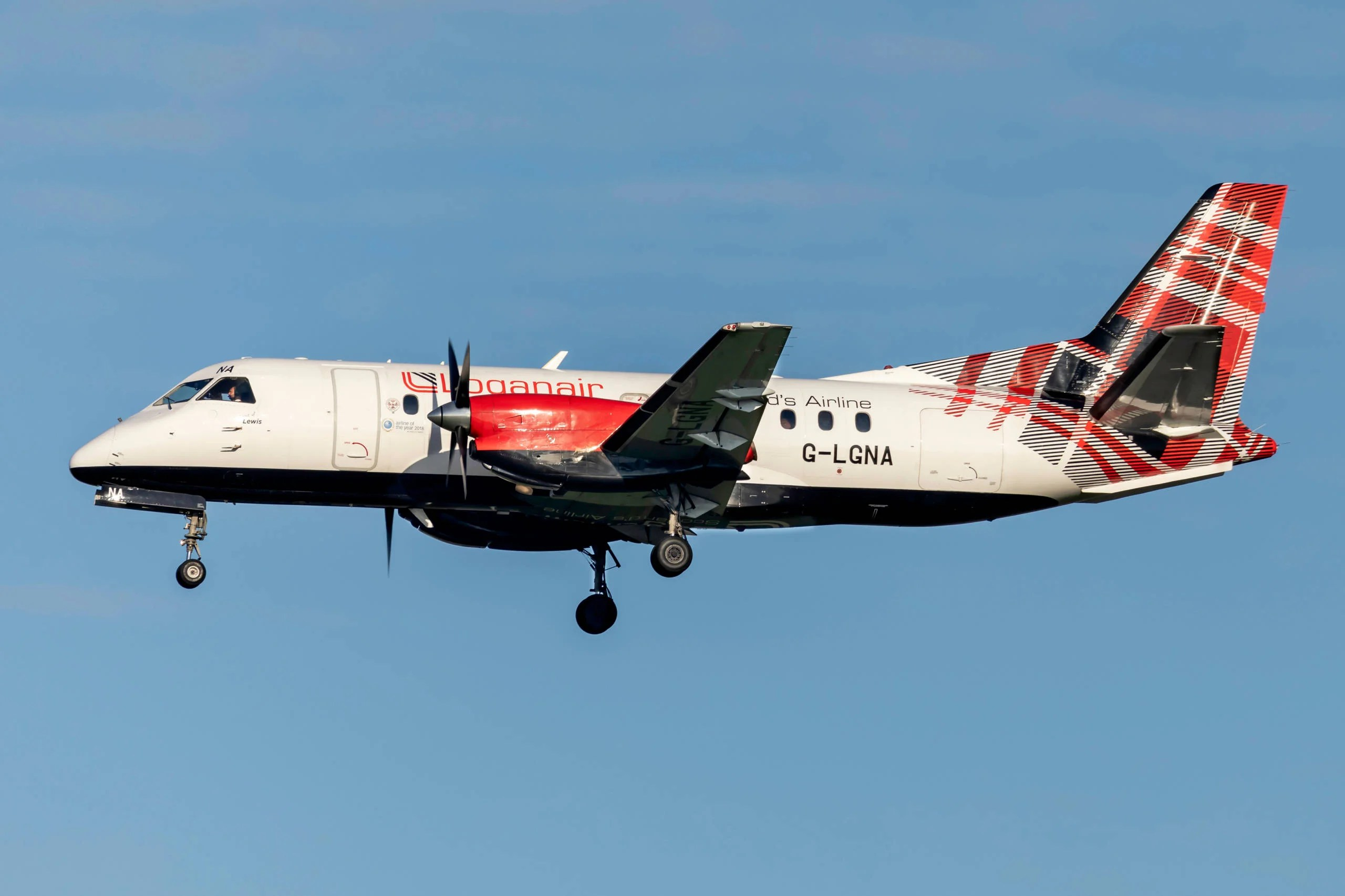 Loganair begins flying to London Heathrow for the first time