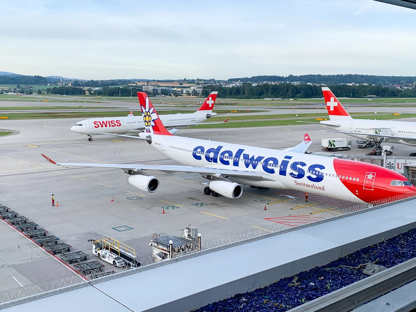 The Swiss first-class ground experience that stole my AvGeek heart