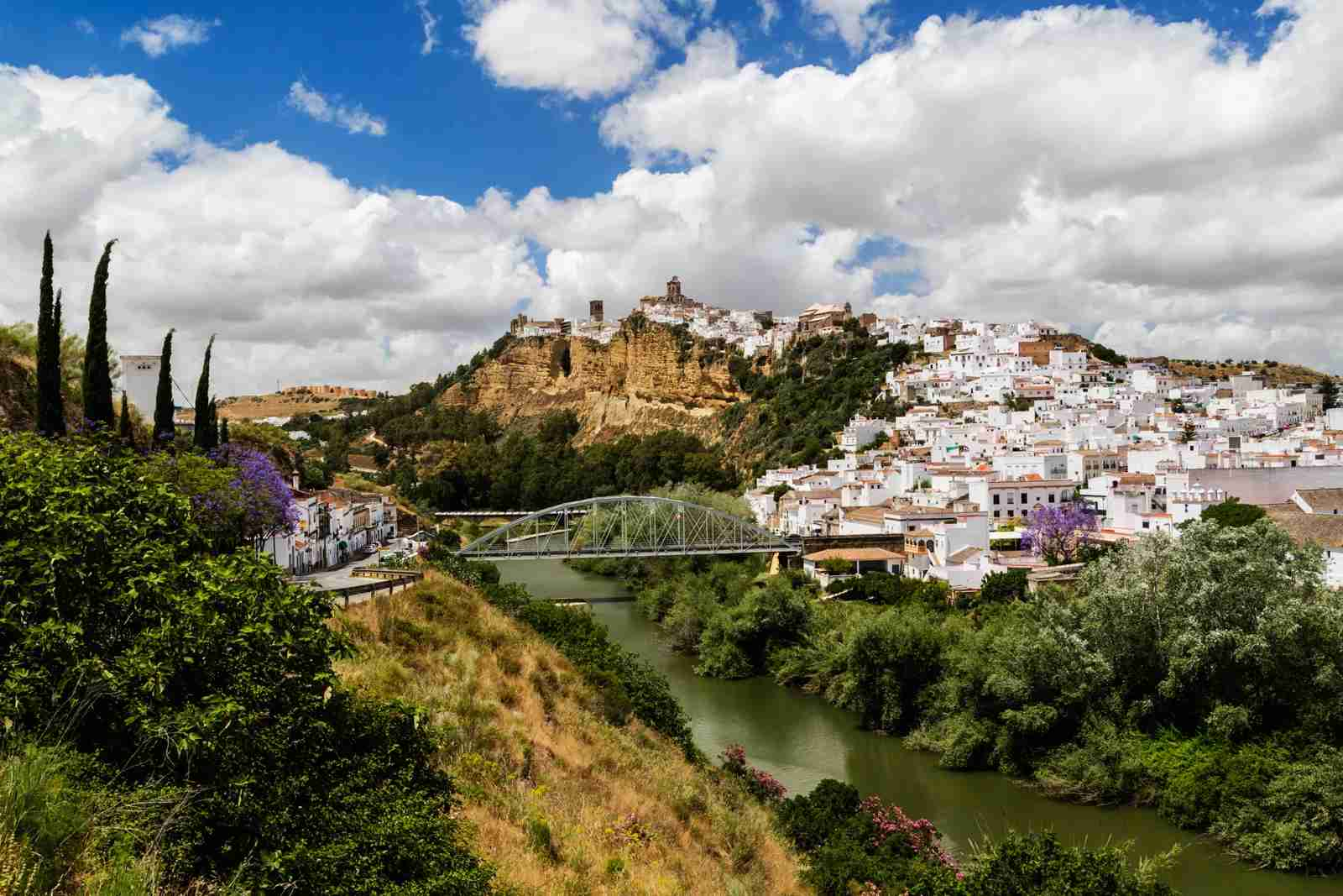 Arcos de la Frontera, Andalusia, Spain. (Photo by Jeremy Woodhouse/Getty Images)