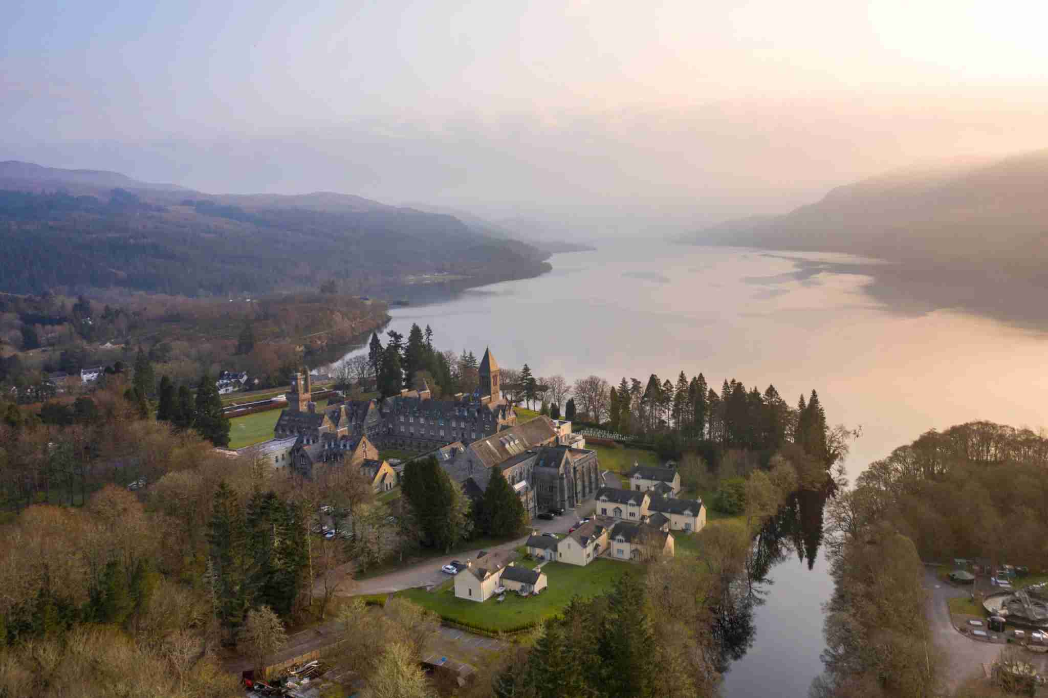 Fort Augustus overlooking Loch Ness. (Photo by CloudVisual/Getty Images)