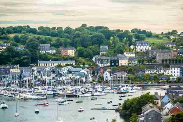 View of the Kinsale Harbour during sunset, County Cork, Ireland. (Photo by Eduardo Fonseca Arraes/Getty Images)