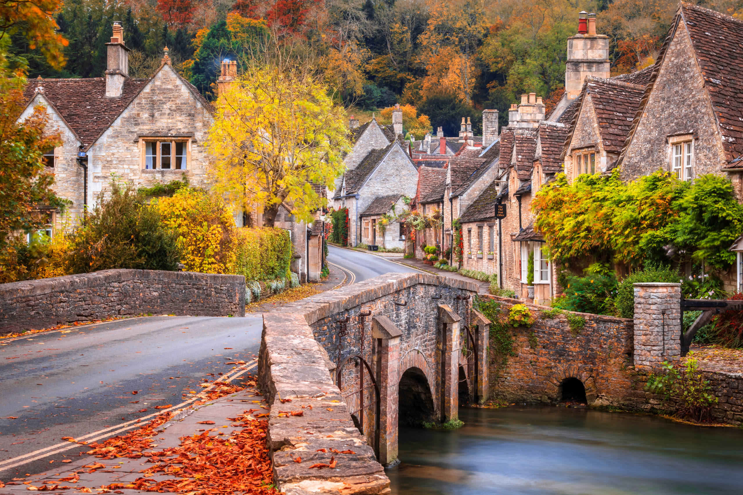 Castle Combe in Wiltshire. (Photo by joe daniel price/Getty Images)