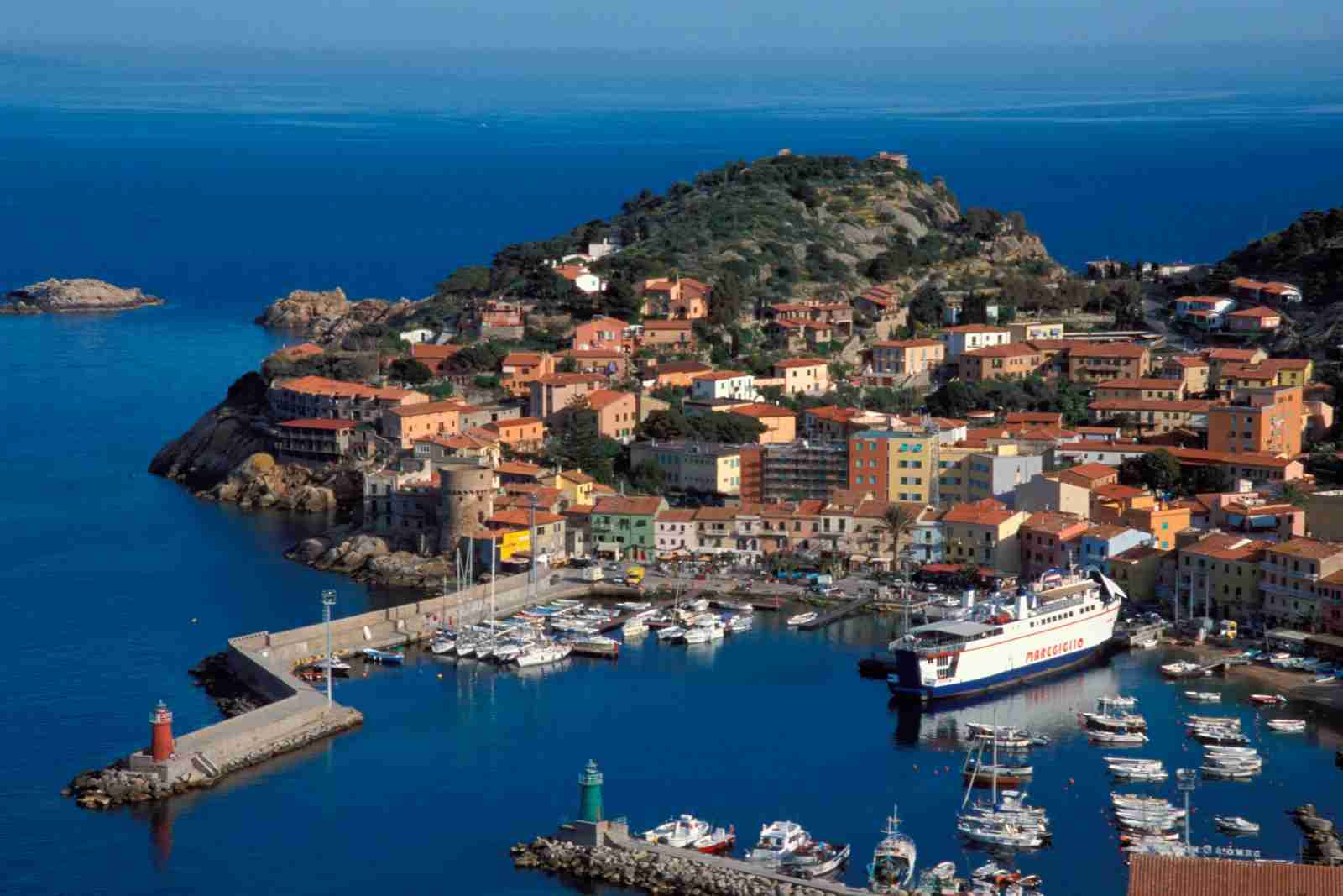 Isola Del Giglio in Tuscany. Italy. (Photo by Nico Tondini/REDA&/Universal Images Group/Getty Images)