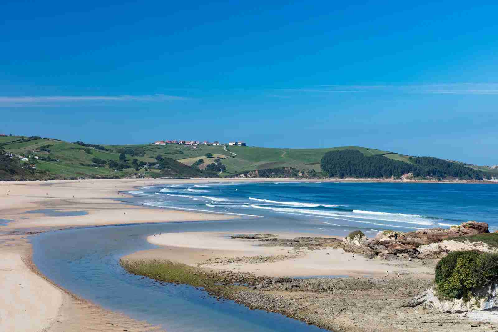 Playa Oyambre in Cantabria. (Photo by Pawel Tocyznski/Getty Images)