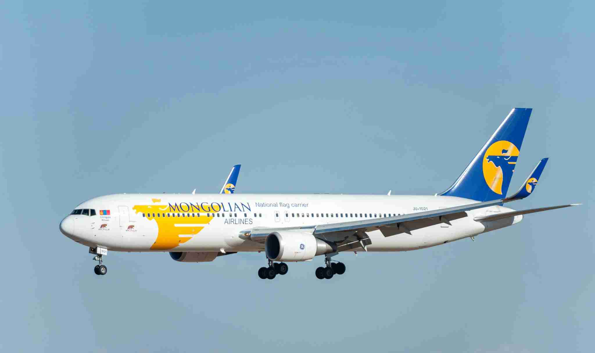 MIAT Mongolian Airlines. Photo by photosounds/Shutterstock