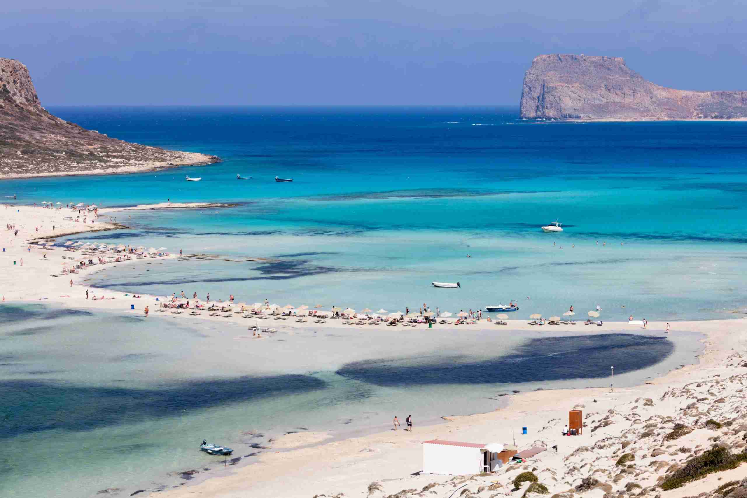 Lagoon of Balos, Crete, Greece (Photo by Evgeni Dinev/Getty Images)