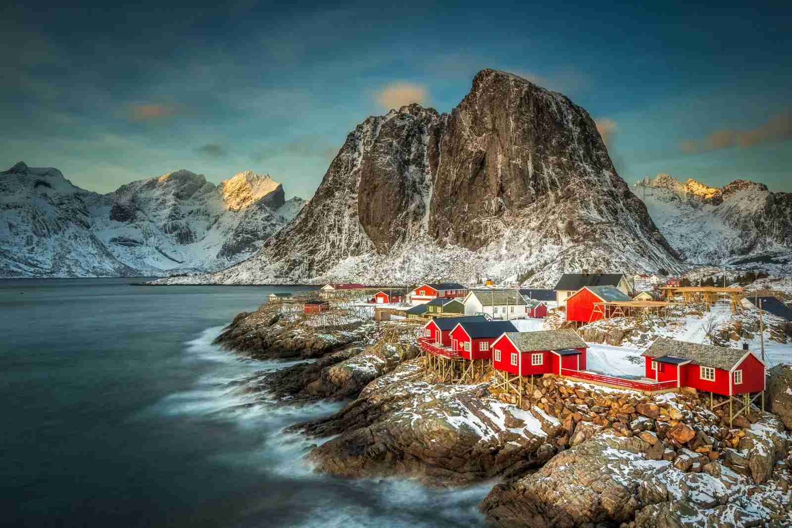 Lofoten Islands in Norway. (Photo by Kenneth Schoth/Getty Images)