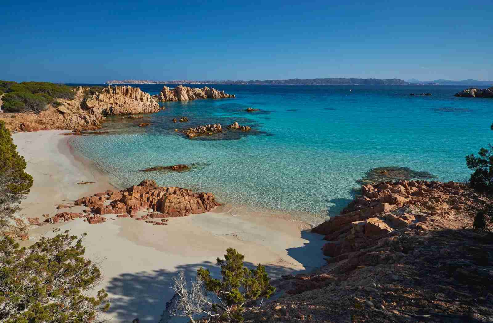 La Maddalena National Park on Sardinia. (Photo by Westend61/Getty Images)
