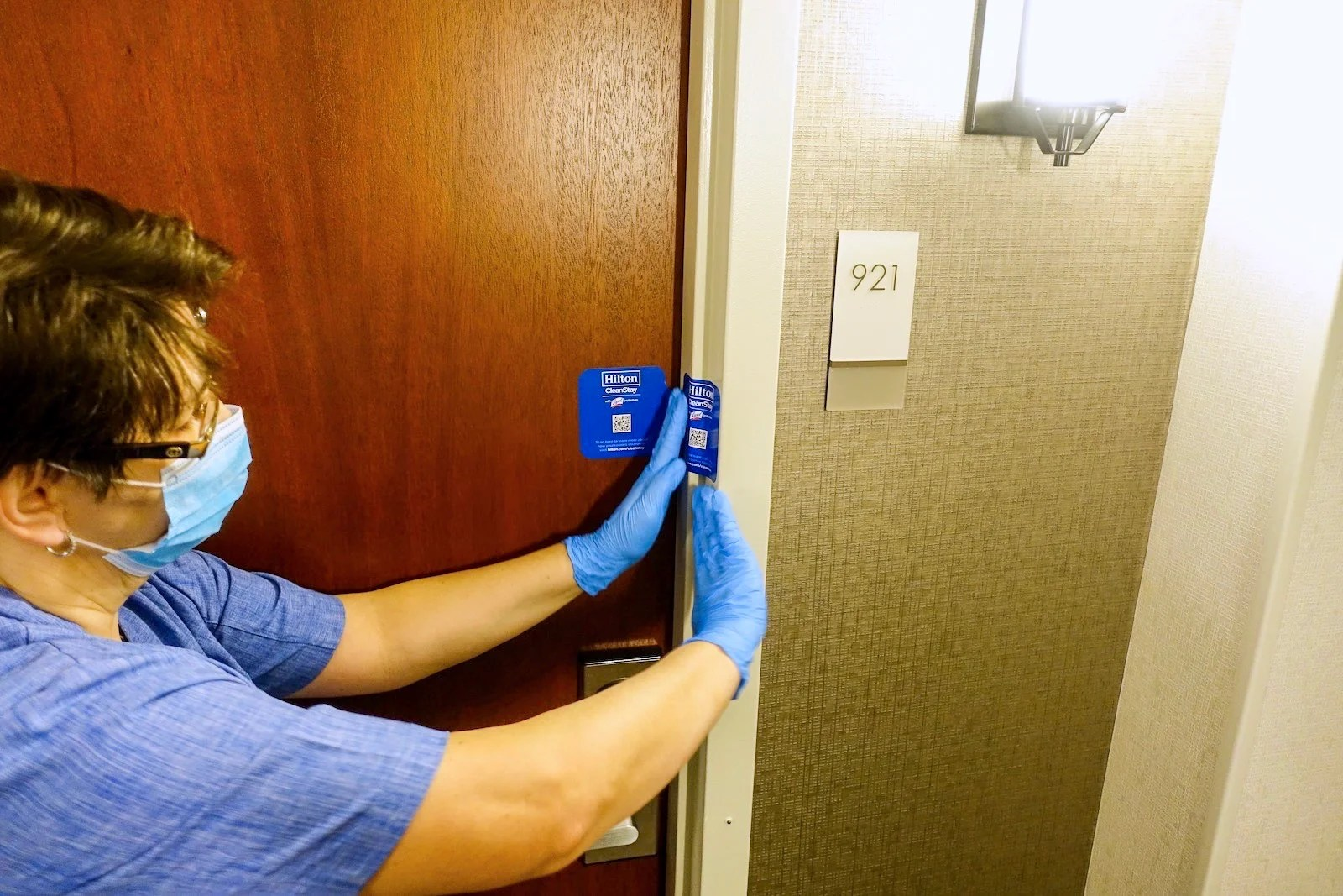 An inside look at how Hilton is cleaning hotel rooms between guests - The Points Guy