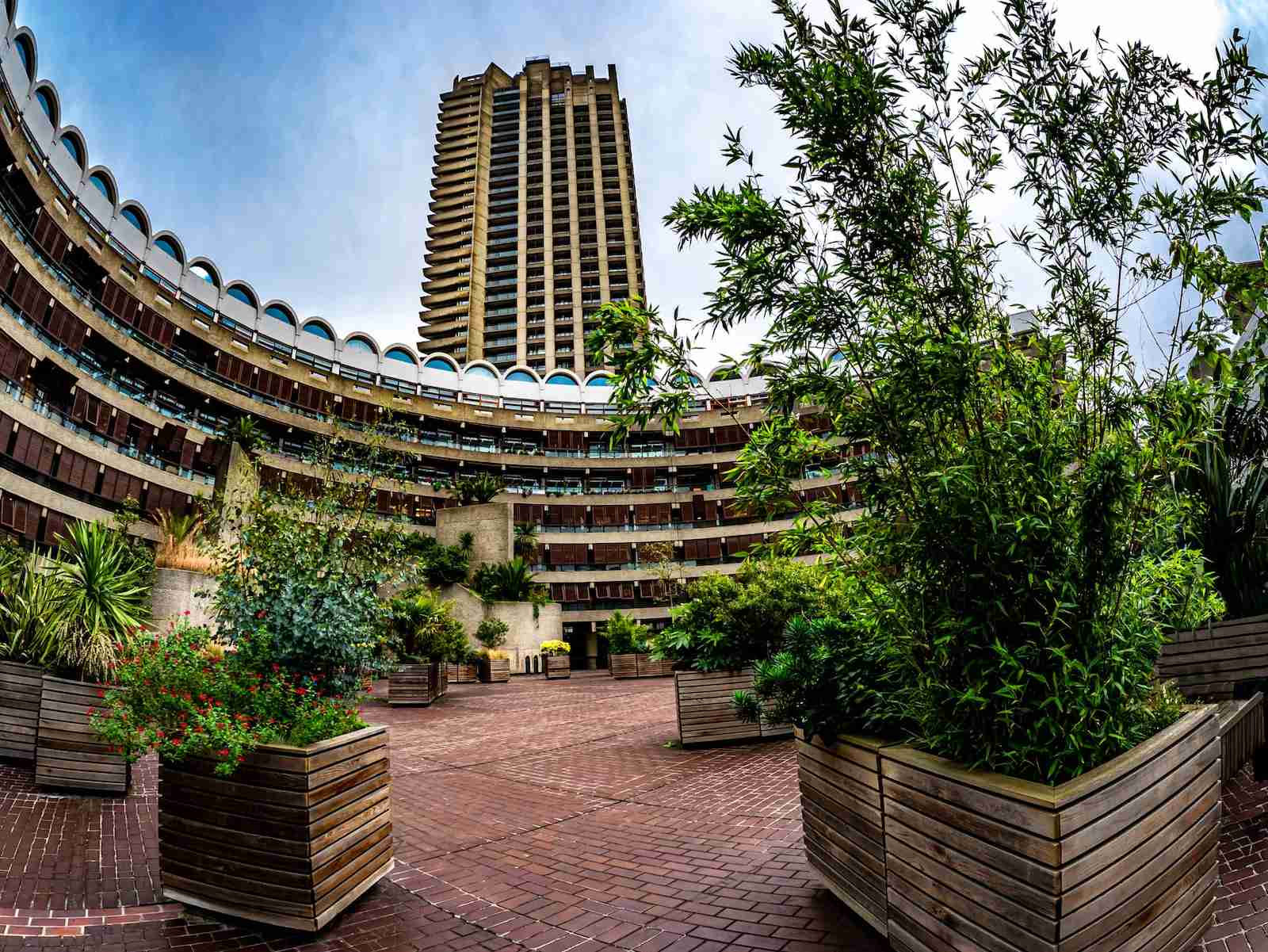 The Barbican Conservatory. (Photo by Cristian Mircea Balate/Getty Images)