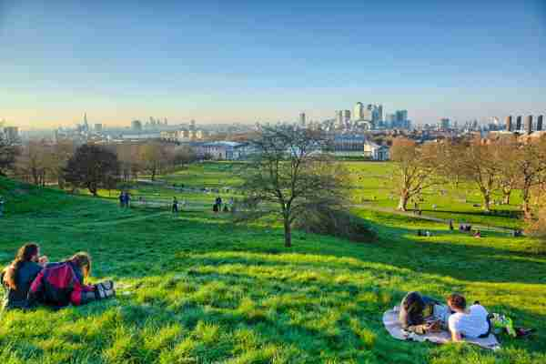 Observatory Hill in Greenwich Park. (Photo by Pawel Libera/Getty Images)