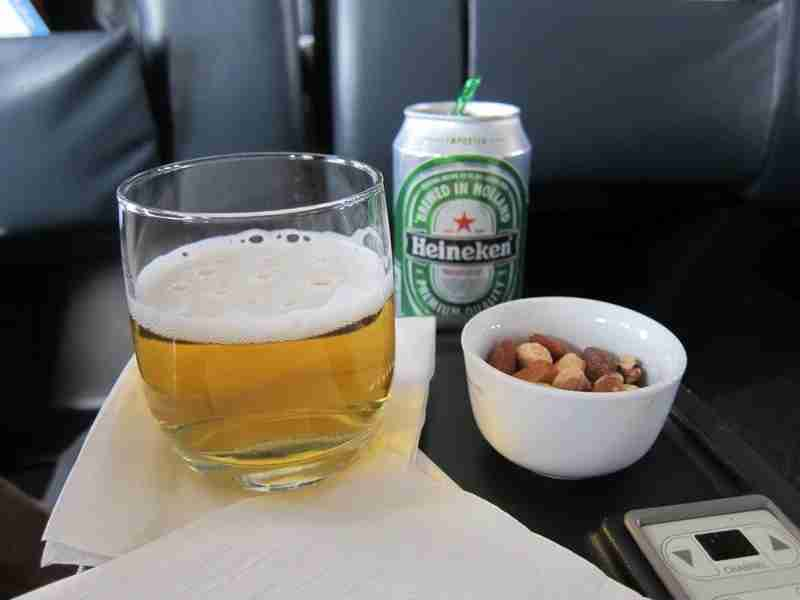 Beer and nuts.. life is good