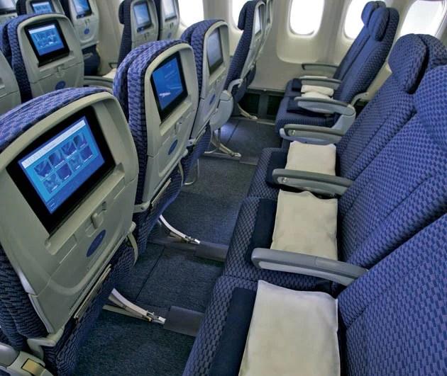 The Best And Worst Transcon Economy Seats