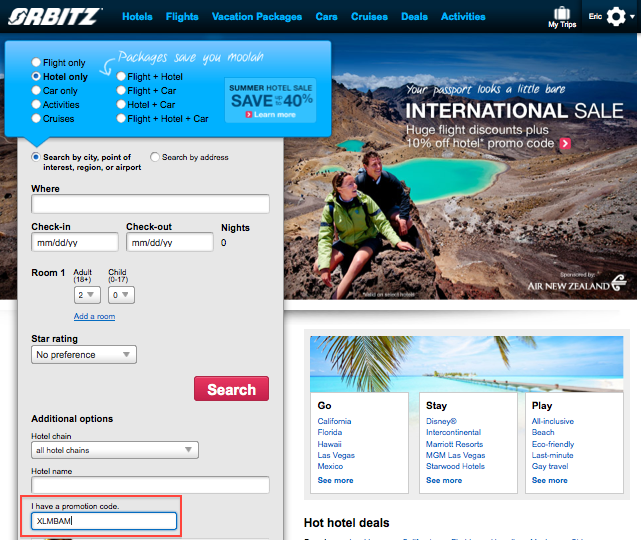Orbitz Promo Codes & Holiday Coupons for December, Save with 14 active Orbitz promo codes, coupons, and free shipping deals. 🔥 Today's Top Deal: Up to 50% Plus an Enjoy $ off Flight + Hotel Trips to Mexico. On average, shoppers save $37 using Orbitz coupons from ashedplan.gq