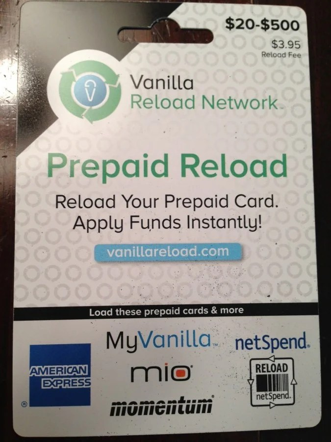 buying vanilla reloads with a credit card alternatives to cvs the points guy - Buy Visa Gift Card Online Instant