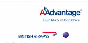 Although American and BA are partners, you can