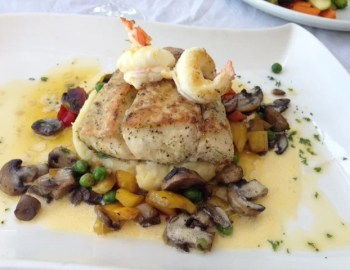 I enjoyed the Kingklip fish as a main dish from Biaia