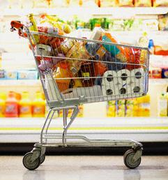 Many credit cards earn multiple points per dollar at grocery stores - and you should be taking advantage of them!