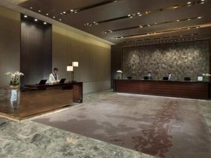 Guest reception at the Conrad Beijing.